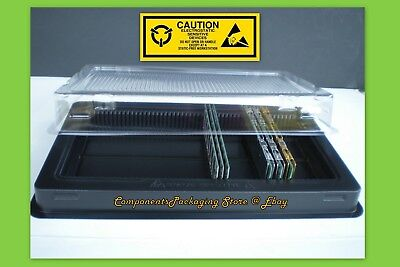 2 - Ram Dram Tray-Container-Box For Pc Desktop Memory Dimm Modules Fits 100 New