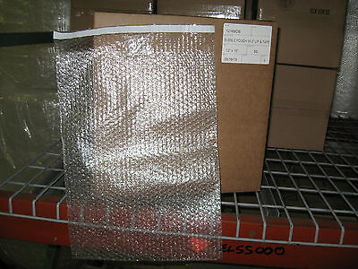 "50 - 12"" x 16"" Clear Self-Seal Bubble Pouches Bags - Ships Free!"