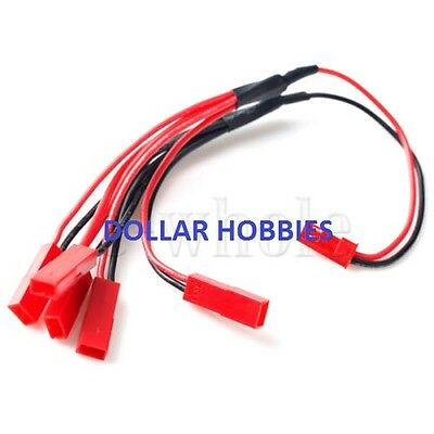 1 20CM MALE TO 5 FEMALE JST Extension Adapter/Connector Lead