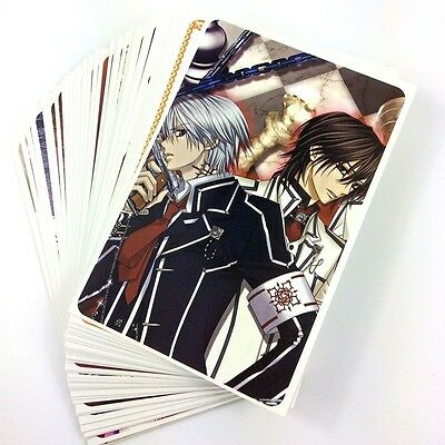 Vampire Knight Cosplay Postcards Post Cards 48PCS/Box