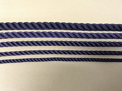 Navy Blue 3 strand Polyester Strong Good Quality rope Ideal for Mooring ++