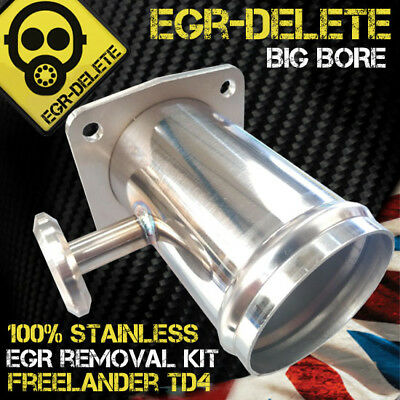 LAND ROVER FREELANDER TD4 BMW ENGINE EGR REMOVAL BLANKING KIT BYPASS  not plate