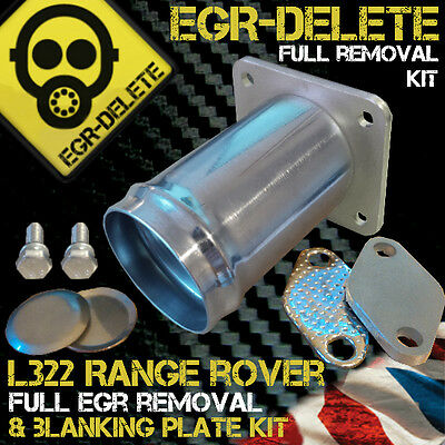 Range Rover L322 3.0 Td6 Egr Removal Kit Delete Blanking Bypass Bhp Performance