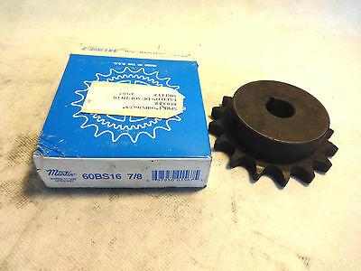 New In Box Martin 60Bs16 7/8 Sprocket