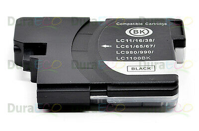 20PK Compatible Black InkCartridge for Brother LC61BK LC 61 LC61 DCP-165C 375CW
