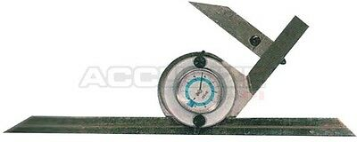 0-180 Degree Dial Reading Bevel Protactor In Fitted Box, #S855-3012