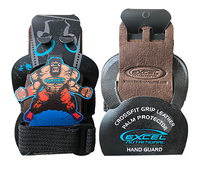 New Crossfit/gymnastic Leather Palm Protector Hand Guard Grip Wod, Extra Strong