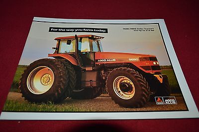 Agco Allis Chalmers 9600 9800 Series Tractor Dealer's Brochure DCPA