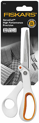 Fiskars Servo Cut High Performance Stainless Steel Precision Scissors 21cm