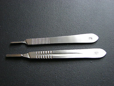 No.3 & 4 Scalple/scalpel Handles Stainless Steel - Dental/medical/surgical Tool