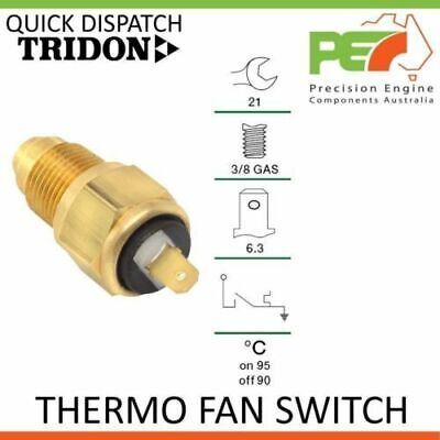 New Genuine * TRIDON * Universal Thermo Fan Switch - 95C ON 90C OFF, 3/8 GAS