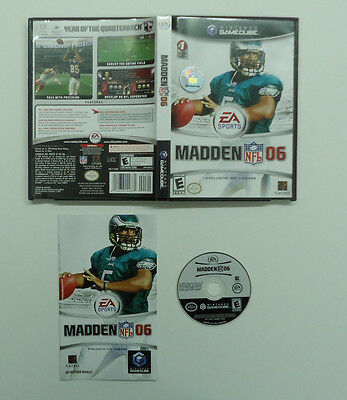 Madden NFL 06 Used Complete  (Nintendo GameCube, 2005)