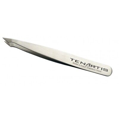 Pointed Slant Hair Tweezers Stainless Steel - Tenartis Made in Italy