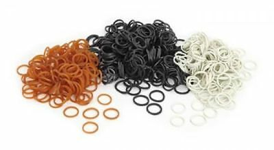 Shires Horse Mane Small Rubber Plaiting Bands - Pack of 500.