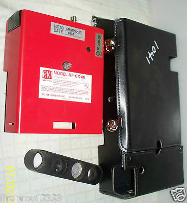 GAS DETECTOR RKI INSTRUMENT RP-GX-86 GAS SAMPLE DRAWING PUMP WITH CASE