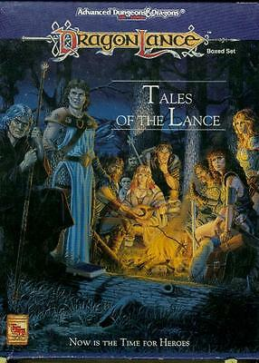 Tales of the Lance for Dragonlance Set Base per un'epica campagna! AD&D 2 Ed