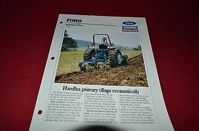 Ford Tractor 110 Economy Plow Dealer's Brochure DCPA