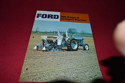 Ford Tractor 309 Bridger & Covington Planters Dealer's Brochure DCPA