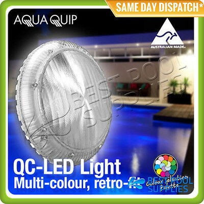 Aquaquip Qc Led Pool Light - Multi Colour – Retro Fit - Variable Voltage