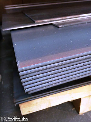 Mild Steel Sheet Plate 1.2mm 1.5mm 2mm 3mm & 4mm Thick