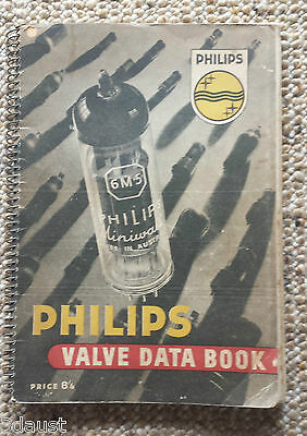 Phillips Valve Data Book 1952 Australia  Very Rare