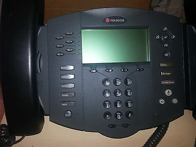 Polycom SoundPoint IP 601 VOIP Office Business Phone System