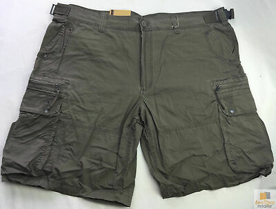Deluxe PLUS SIZE CARGO SHORTS Heavy Duty Big Sizes Summer 100% COTTON A627SBT133