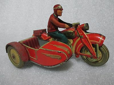 VINTAGE TIPPCO MOTORCYCLE WITH SIDECAR MADE IN US ZONE GERMANY T587 TCO
