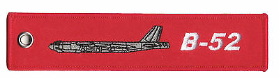 B-52 Remove Before Flight High Quality Polyester Keychain Luggage Baggage Tag