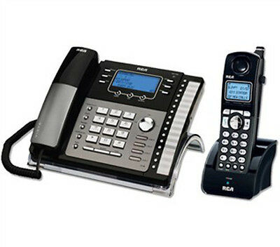 RCA 4-Line Corded / Cordless Phone Business Combo Expandable 25423RE1 & H5401RE1