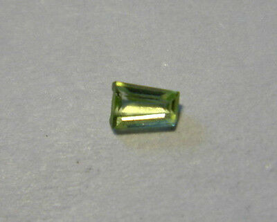 Peridot Tapered Baguette Cut Gemstone 2.5 mm x 1.5 mm 0.05 Carat Natural Gem