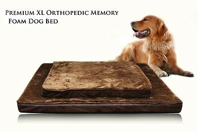 Large Size Memory Foam Orthopedic Joint Support Pet Dog Cat Bed Mat Older Dogs
