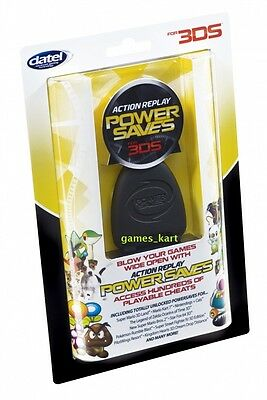 ACTION REPLAY POWER SAVES 3DS XL POKEMON OMEGA RUBY & ALPHA SAPPHIRE NINTENDO