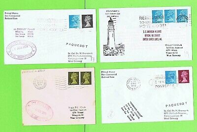 GB Collection of four Paquetbot Covers inc American Alliance
