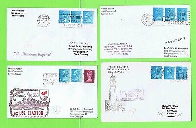 GB Collection of four Paquetbot Covers inc Hamburg Express