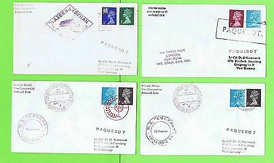 GB Collection of four Paquetbot Covers inc Lagos Palm