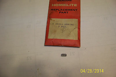 1 Homelite chainsaw manual oil pump spring # 59293 1050 2100 3100G  NOS NEW