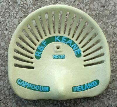 R&F Keane No.19 Cast Iron Seat Cappoouin Ireland Cabin Lodge Man Cave Decor New