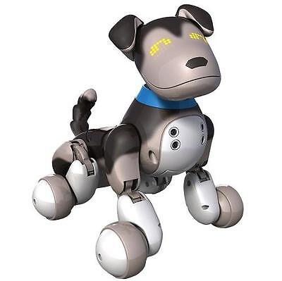 NEW Zoomer Interactive Puppy Shadow Robot Dog Electronic Toy Learn Tricks