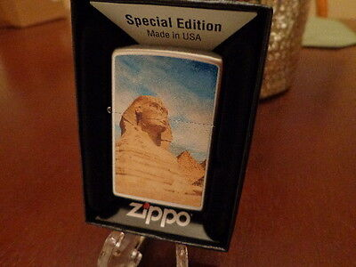 The Great Sphinx Of Giza Zippo Lighter Mint In Box