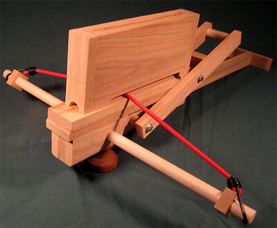 Working Model Repeating Crossbow Plans and Instructions
