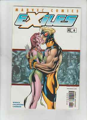 EXILES  # 6 -- VERY FINE CONDITION ---HUGE SALE