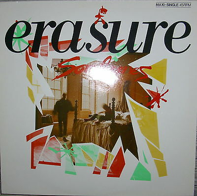 "12"" Erasure - Sometimes / Sexuality / Say What,Mint - Mute Records  INT 126.854"