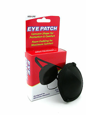 Acu-Life(Aculife) Eye Patch-Concave For Eye Protection-Medical Use,  Foam Padded