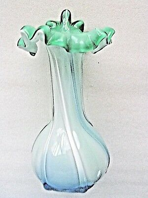 VENETIAN  CASED GLASS VASE BEAUTIFUL Vintage