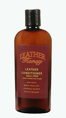 Leather Honey Leather Conditioner/Softener/Protector 8 oz (1/2 Pint)