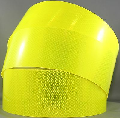 3M Fluoro Yellow Green (4083) Diamond Grade Class 1 Reflective Tape 75mm x 45.7m