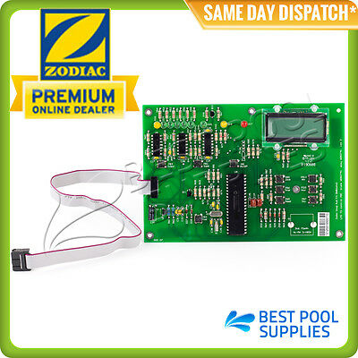 Zodiac Clearwater Lm3 / Lm2 Top Control Pcb Board With Clock / Timer - W082741