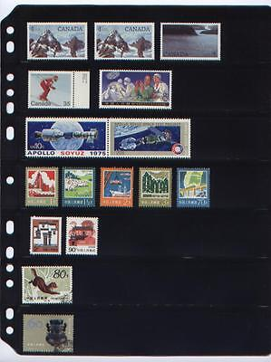 ANCHOR 25 New Stock Pages 7S (7-Rows) for Small (Regular) Stamps -FREE SHIPPING.