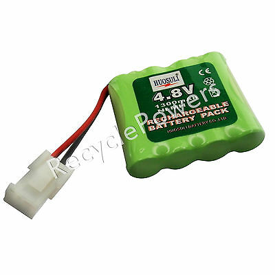 1 pc 4.8V 1300mAh Ni-MH Rechargeable Battery Cell Pack